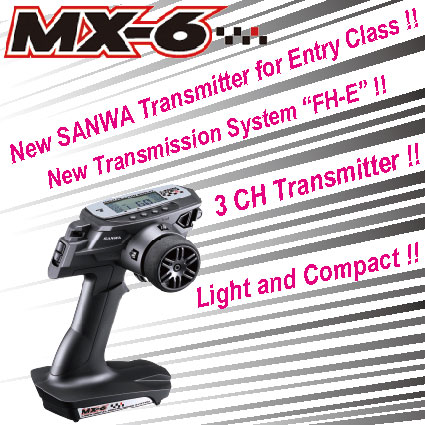 NEW PRODUCTS MX-6
